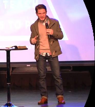 Chris Ulery Preaching
